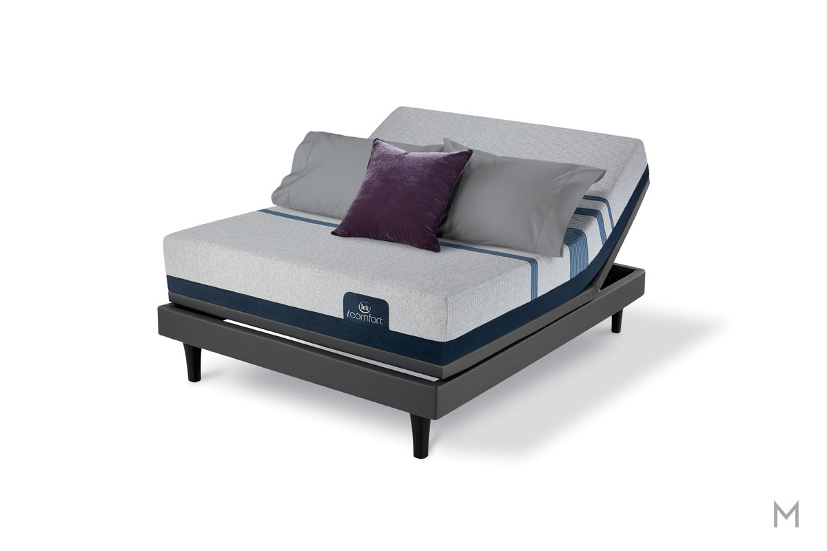 Serta Blue 300 Firm Mattress - King with Evercool® Fuze™ Memory Foam