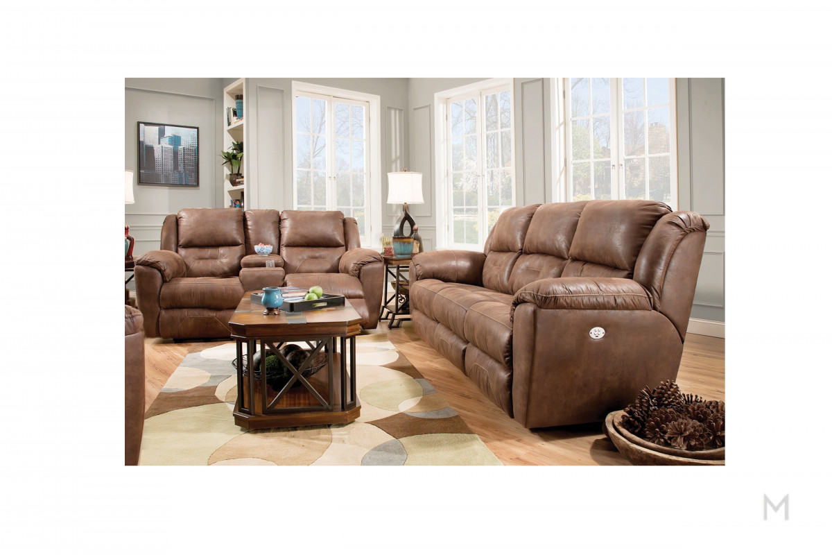 M Collection Pandora Reclining Sofa