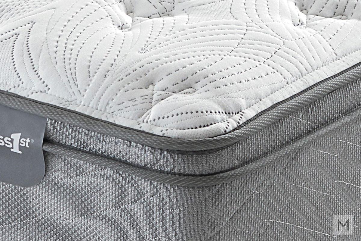 Mattress 1st Dickinson Euro Top Mattress - Twin XL with Gel Support Foam