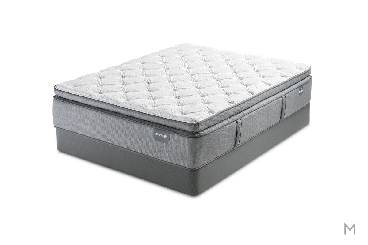 Mattress 1st Everett Valley Super Pillow Top Mattress - Twin with Gel-Enhanced Memory Foam