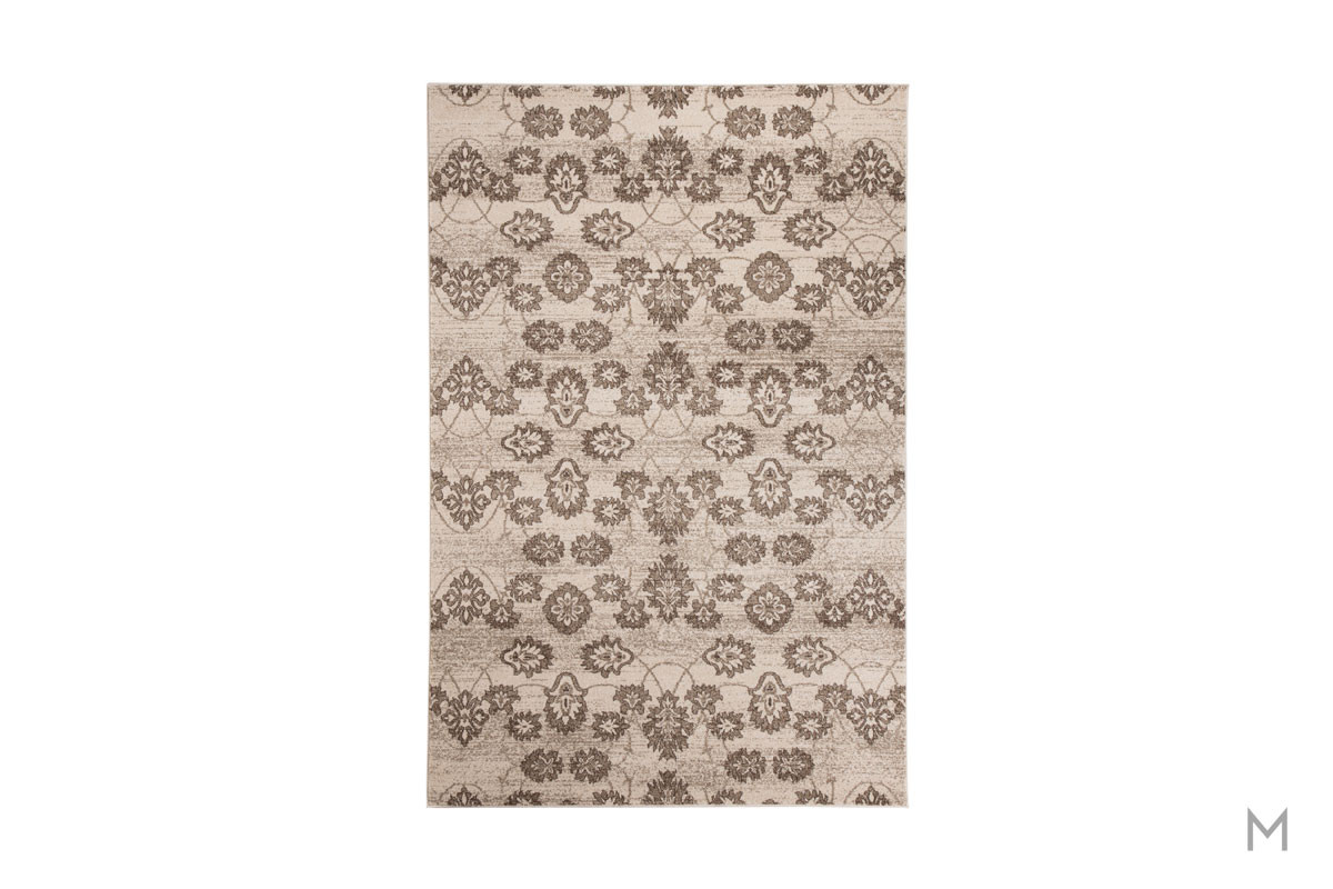 Aviana Area Rug 5' x 7' featuring Botanical Motif