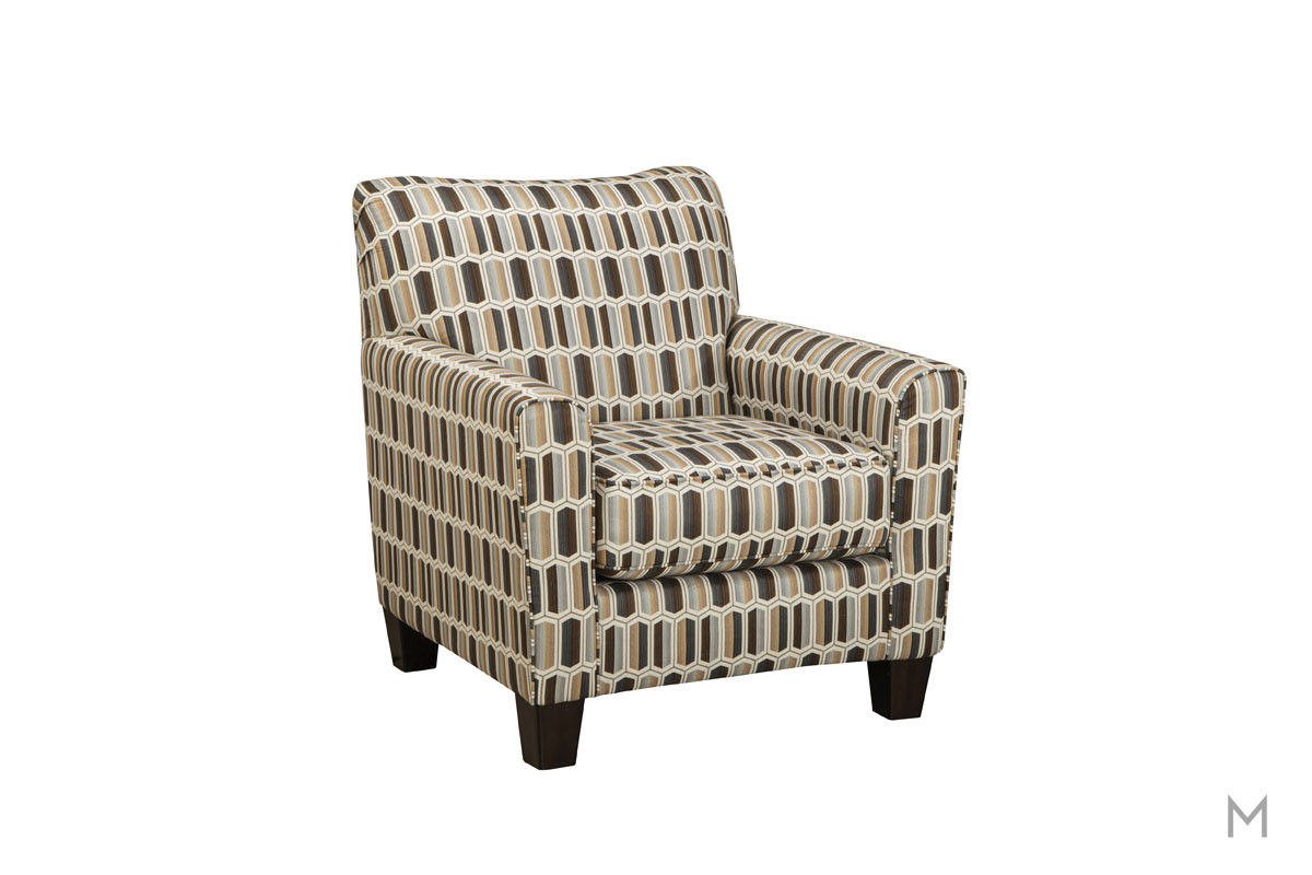 Janley Accent Chair in Nugat