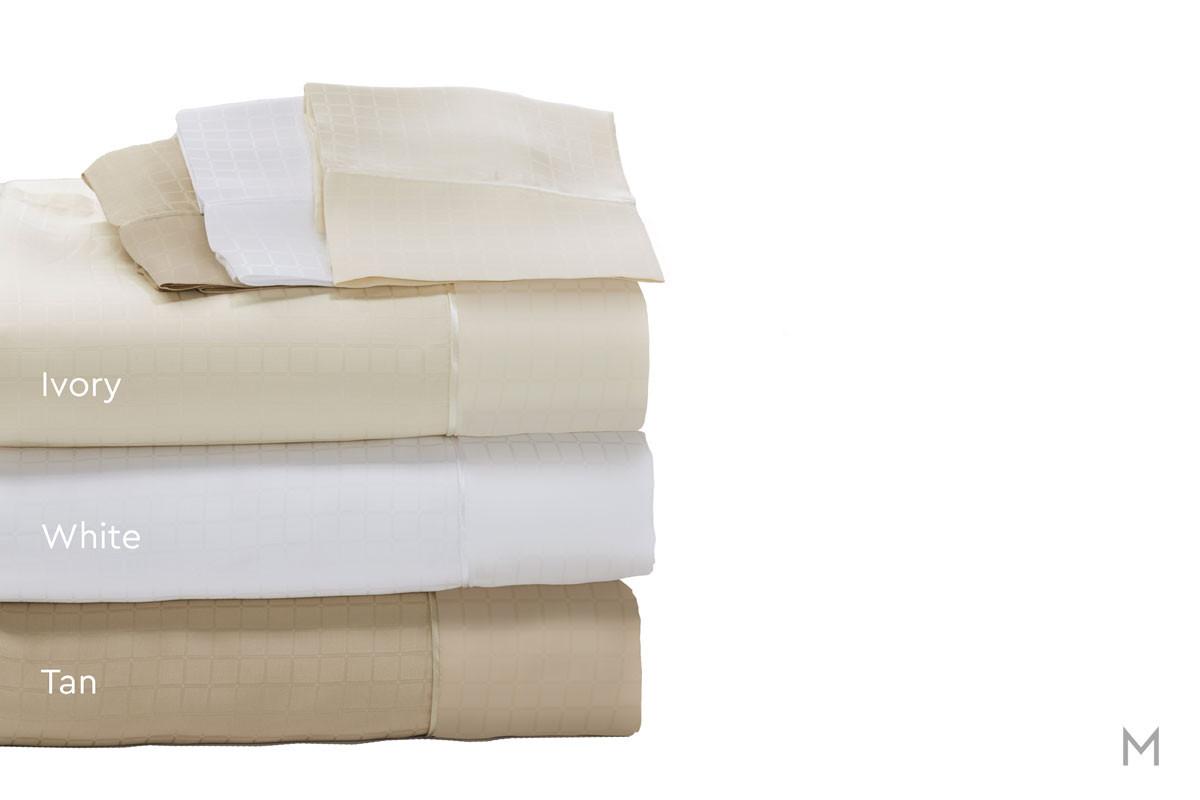 Degree 6 TENCEL® SUPIMA® Sheet Set - Split King in White