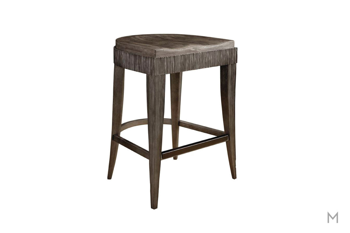 Geode Occo Counter Stool featuring Contoured Seat