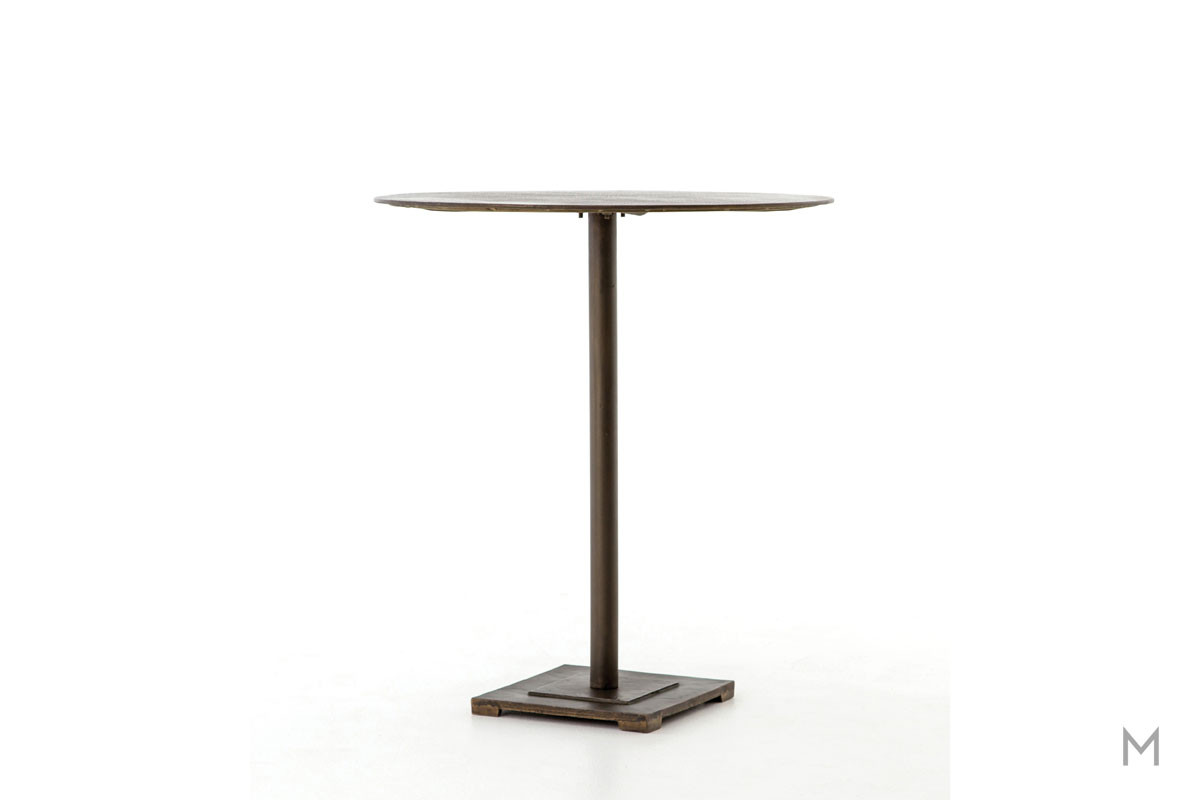 Fannin Counter Table featuring Acid-Etched Top Pattern