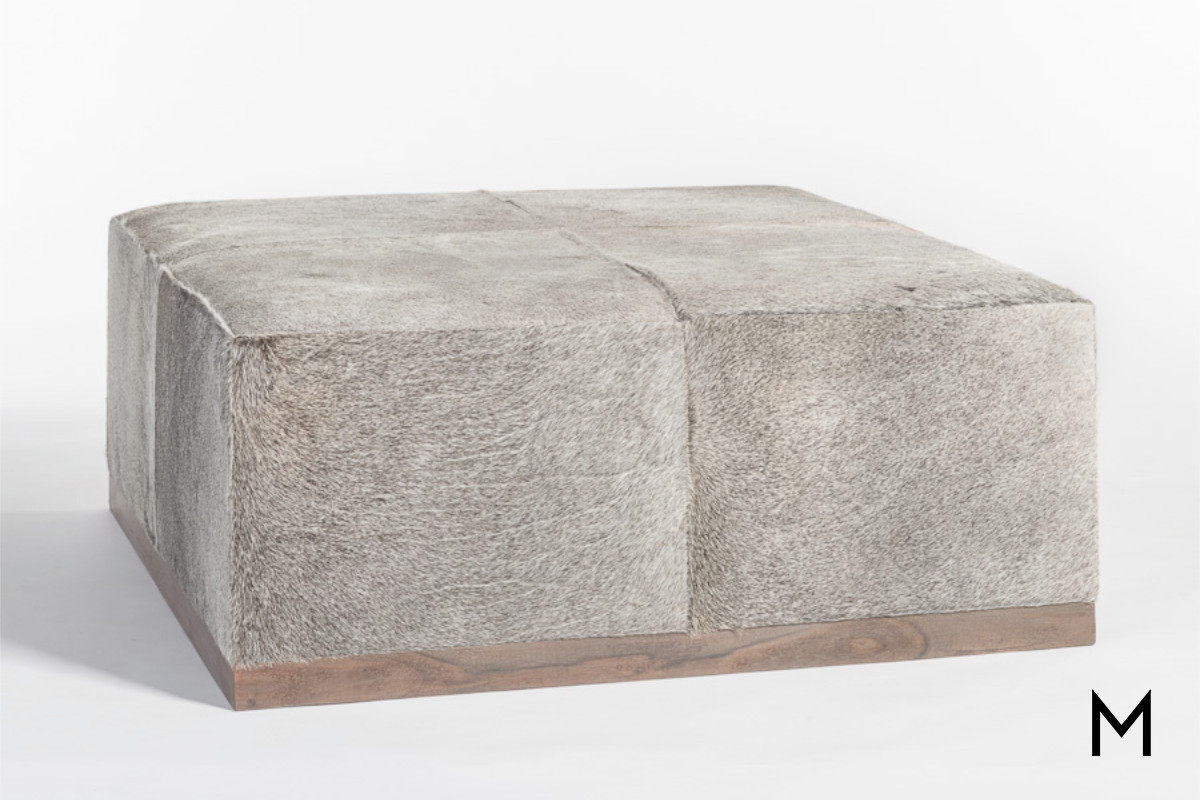 Collections Of Large Gray Storage Ottoman