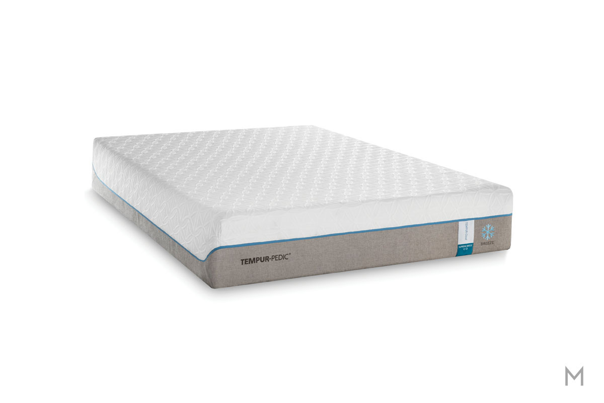 Tempur-Pedic TEMPUR-Cloud® Supreme Breeze 2.0 Mattress - Twin XL with Cooling Cover