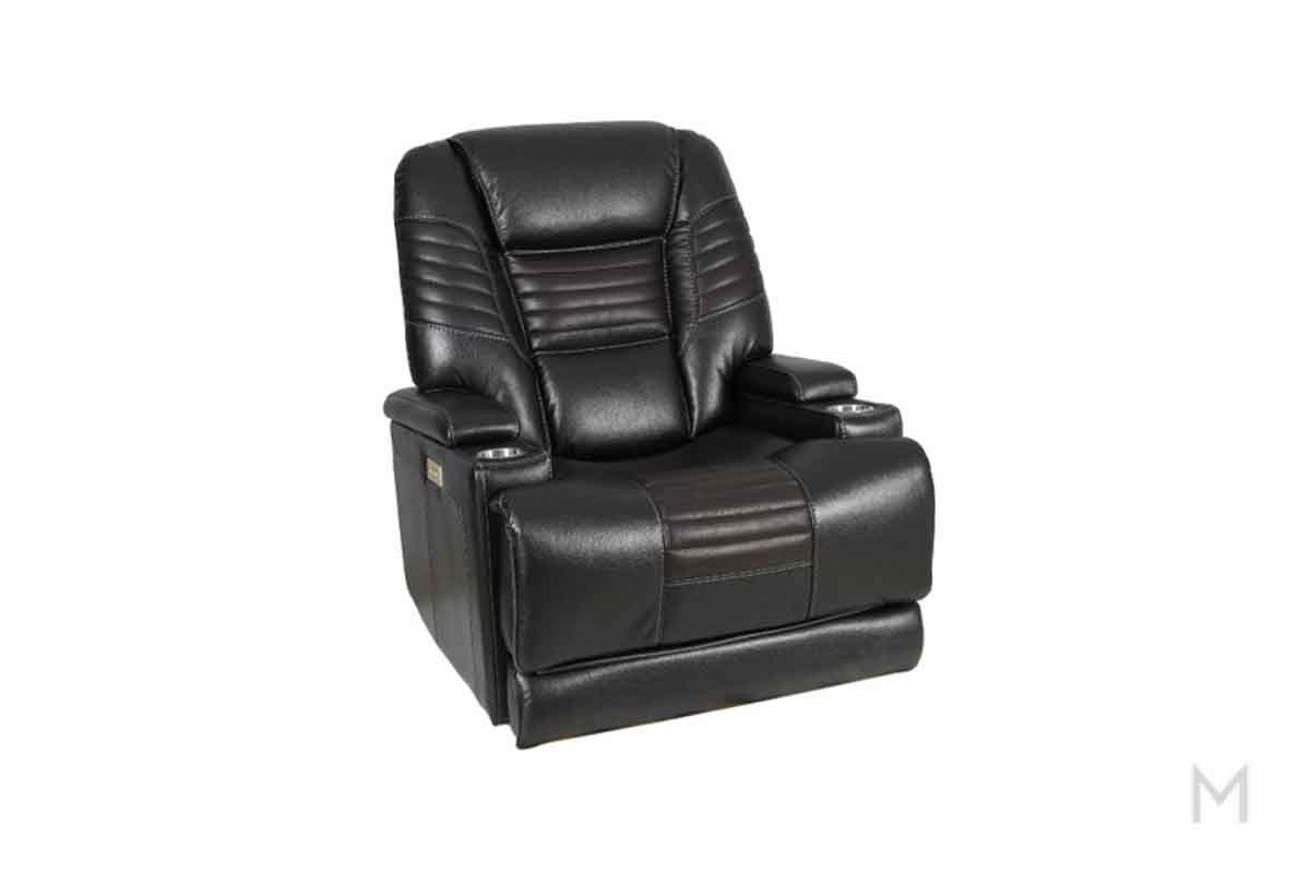 Theatre Power Recliner with Cupholders