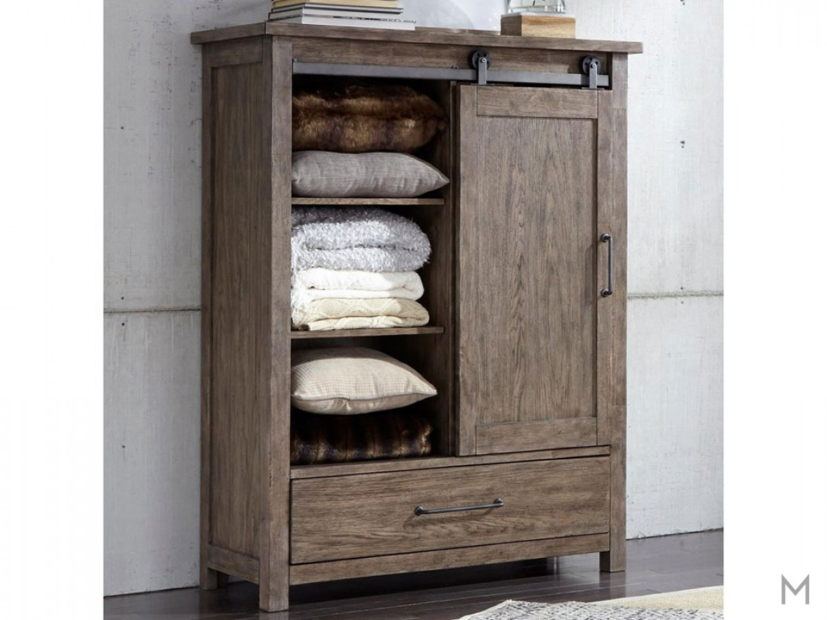 Sonoma Road Door Chest with Cedar Lined Bottom Drawers