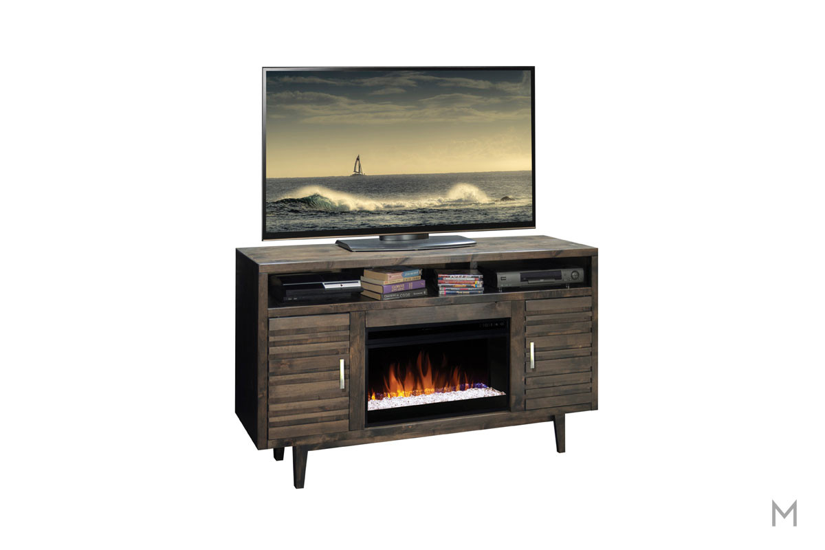 "Avondale 61"" TV Console with Fireplace"