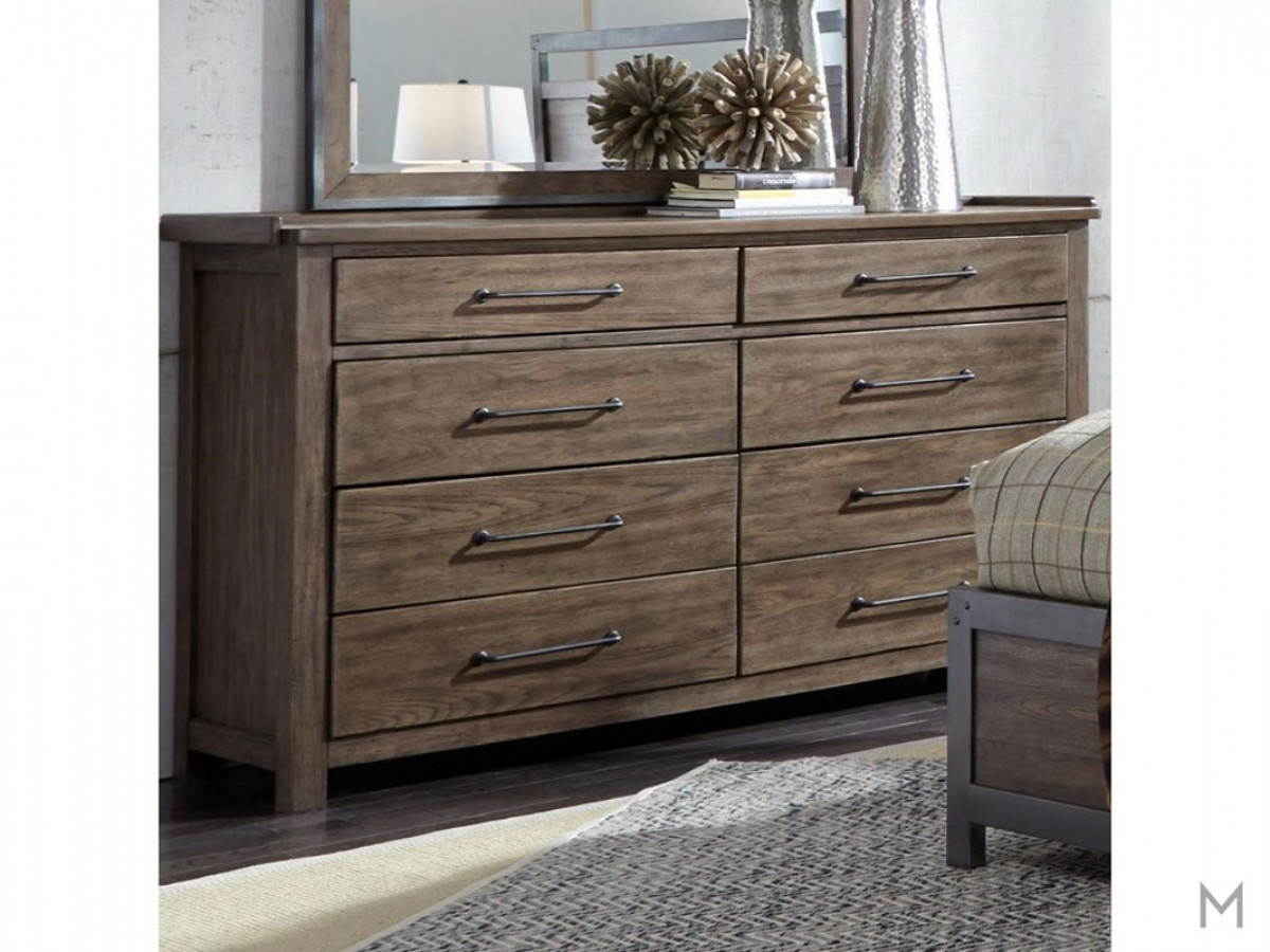 Sonoma Road 8 Drawer Dresser with Cedar Lined Bottom Drawers