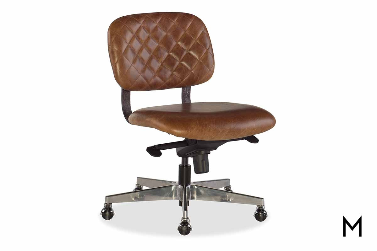 Romeo Office Chair in Brown