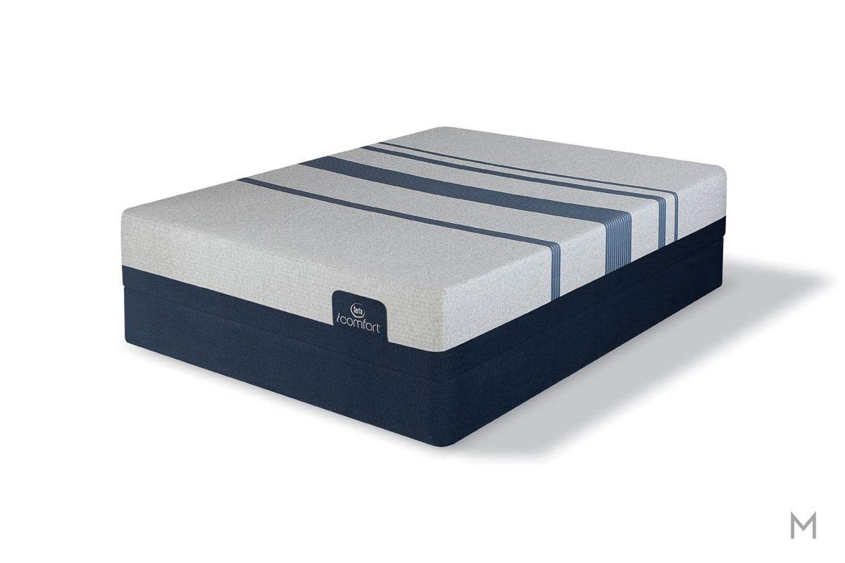 Serta Blue 300 Firm Mattress - Full with Evercool® Fuze™ Memory Foam
