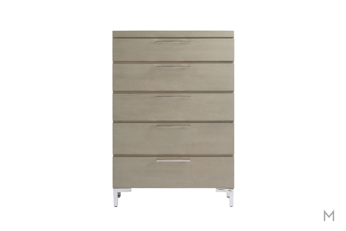Axis Kids 5 Drawer Chest with Hidden Jewelry Storage