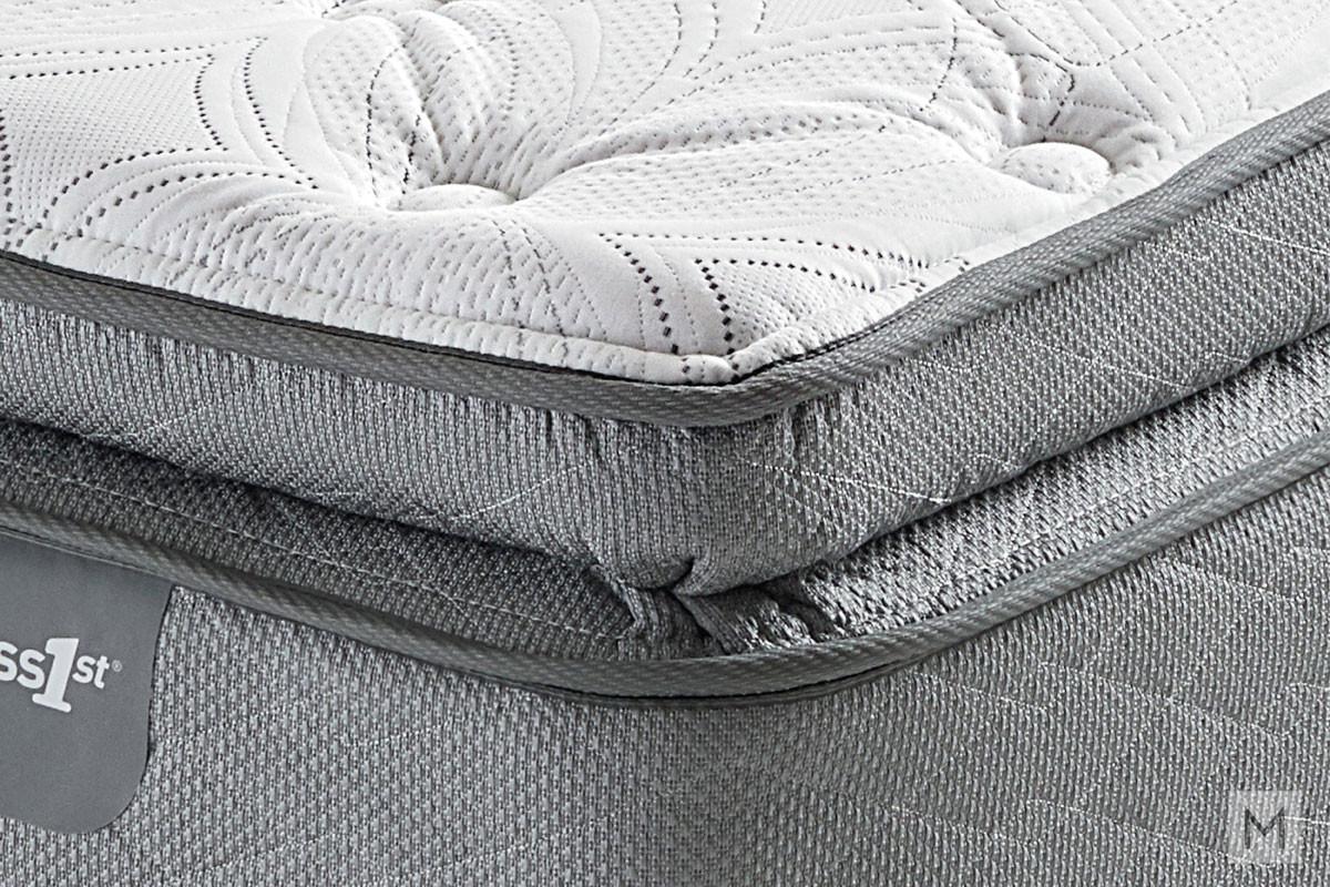 Mattress 1st Everett Valley Super Pillow Top Mattress - King with Gel-Enhanced Memory Foam