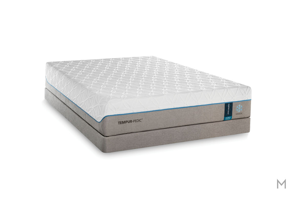 Tempur-Pedic TEMPUR-Cloud® Luxe Breeze 2.0 Mattress - King with Cooling Cover