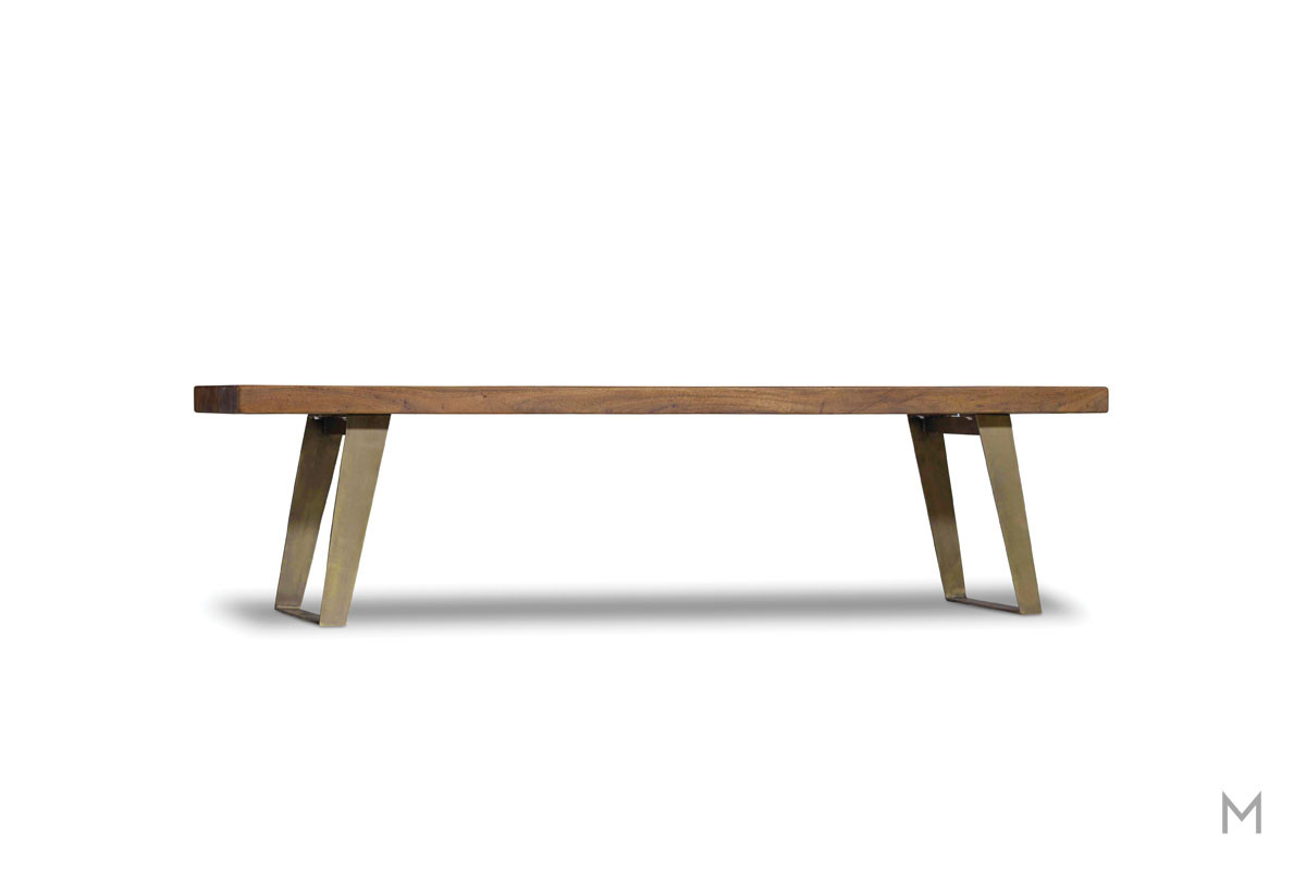 Transcend Dining Bench made of Acacia Wood