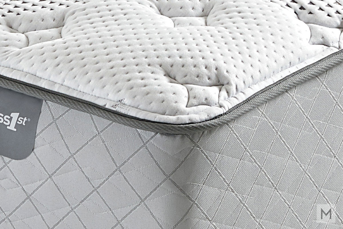 Mattress 1st Gel 1st Hybrid Plush Mattress - King with Gel-Enhanced Memory Foam