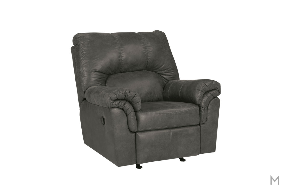 Bladen Rocker Recliner in Slate Gray