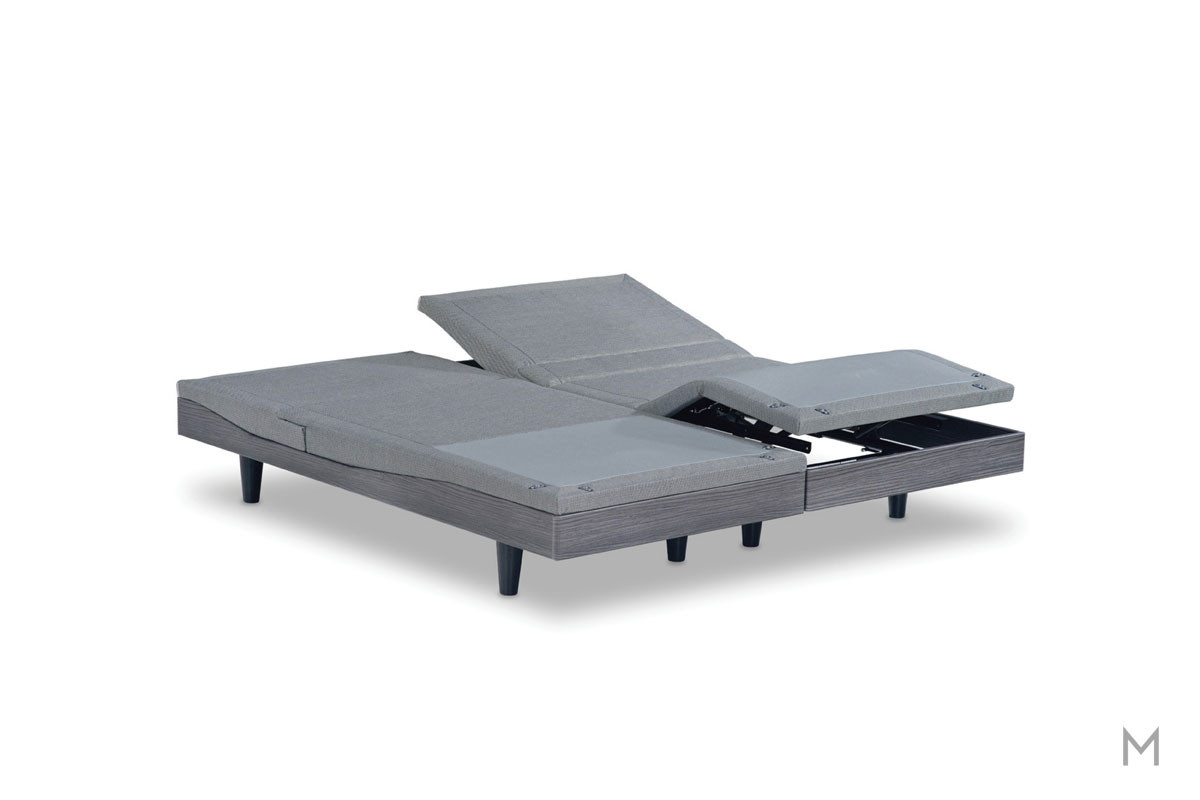 Reverie 8T™ Adjustable Foundation - Twin XL with Lumbar Support and 3D Wave™ Massage