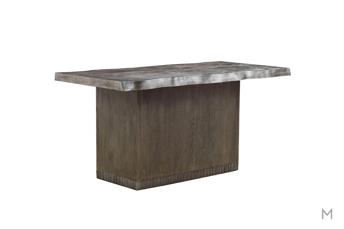 Geode Mineral Kitchen Island with Drawer Storage