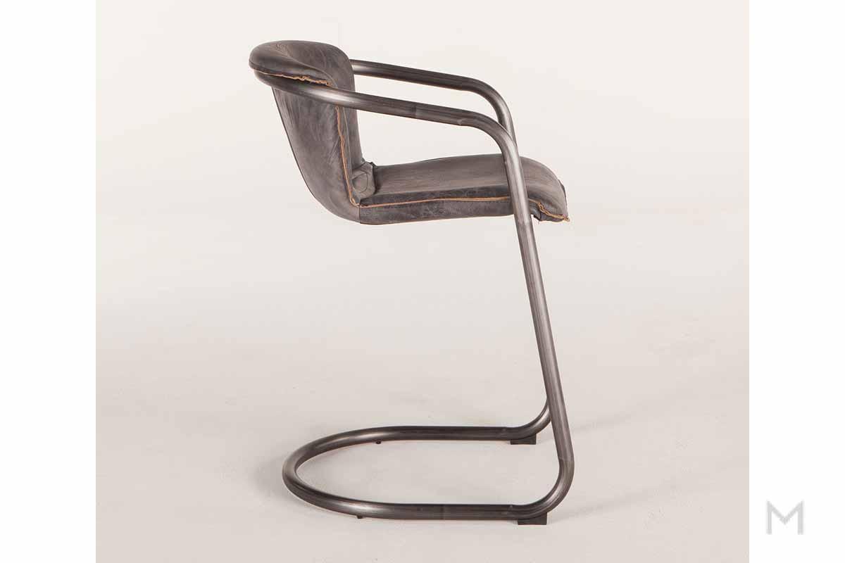 Portofino Antique Ebony Counter Chair