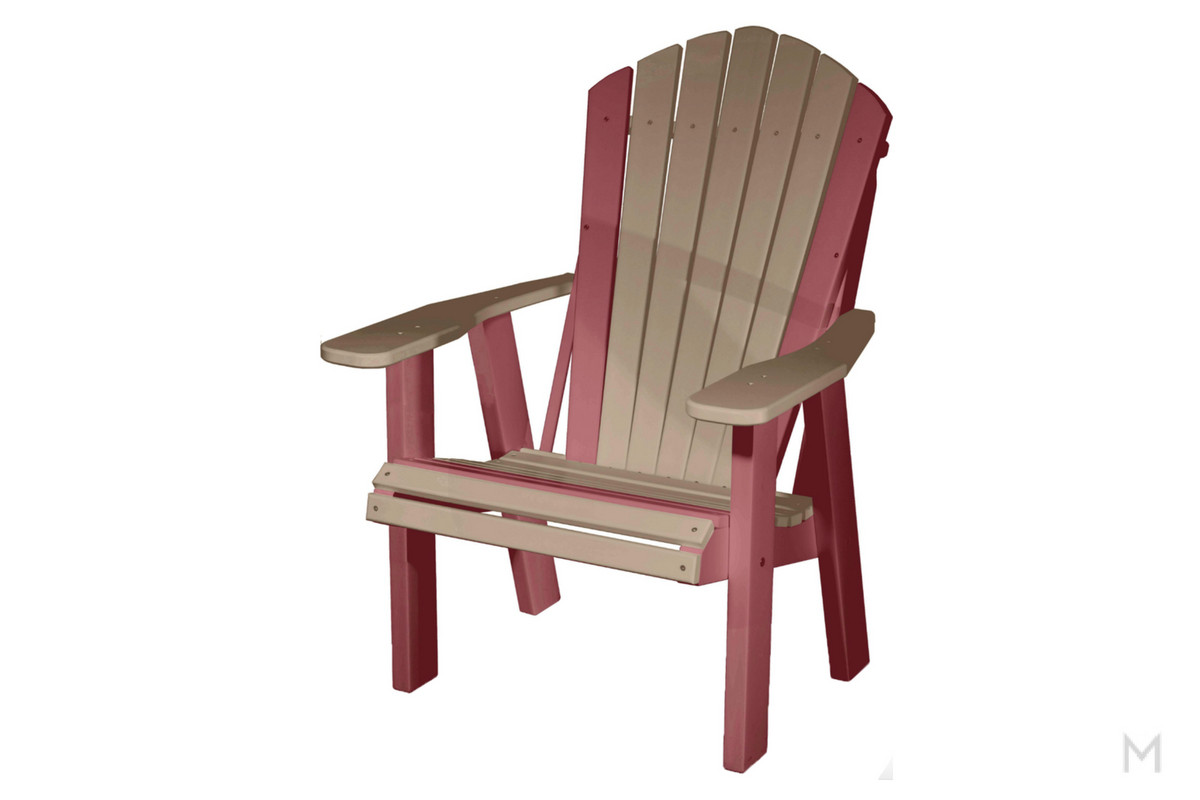 Weatherwood with Cherry Patio Chair