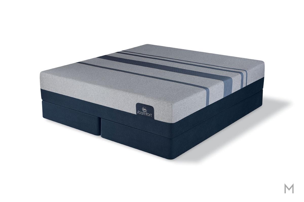 Serta Blue Max 3000 Elite Plush Mattress - Twin XL with EverCool® Supreme Memory Foam
