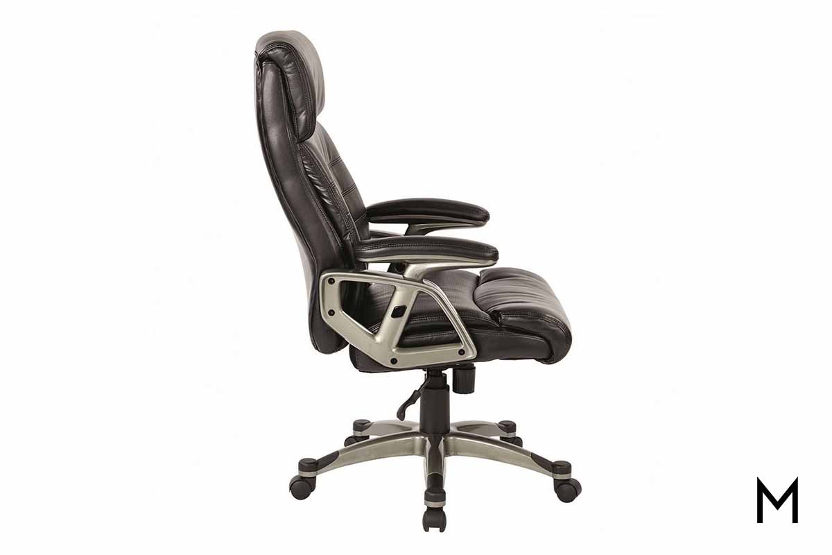 Black Bonded Office Chair