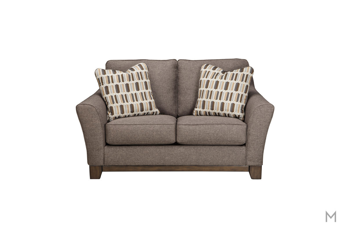 Janley Loveseat in Slate Gray