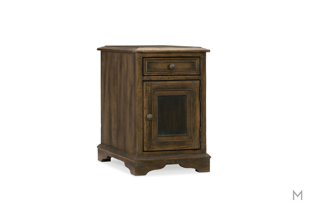 Hill Country Dewees Chairside Table featuring Two Tone Wood