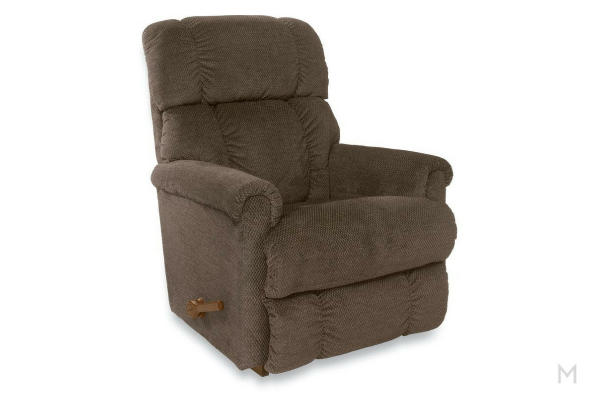 Pinnacle Rocker Recliner Color: Brown