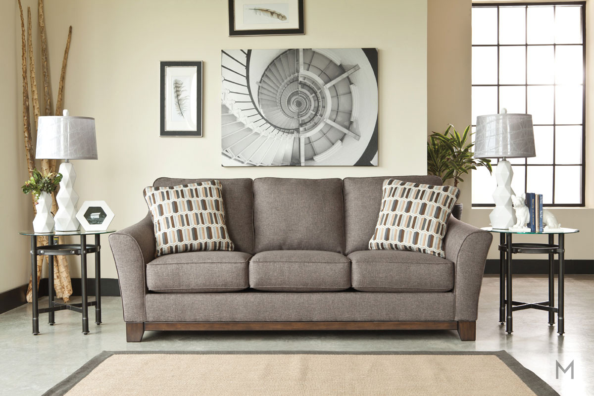 Janley Sofa in Slate Gray