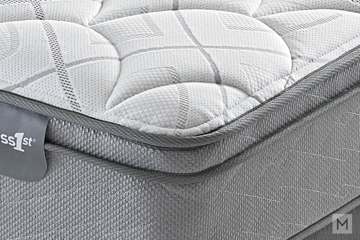 Mattress 1st Beverley Euro Top Plush Mattress - Full with 520 Mira-Coil®