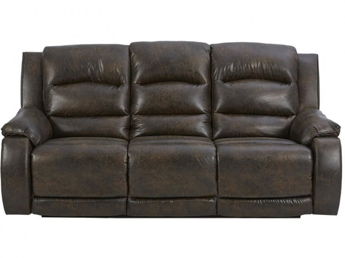 Reuben Reclining Sofa with Power Headrest
