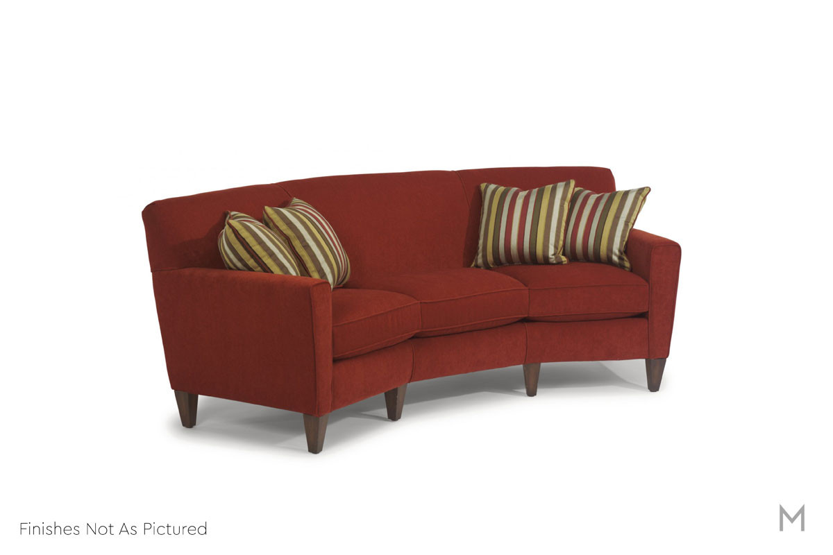 Digby Conversation Sofa in Smoke