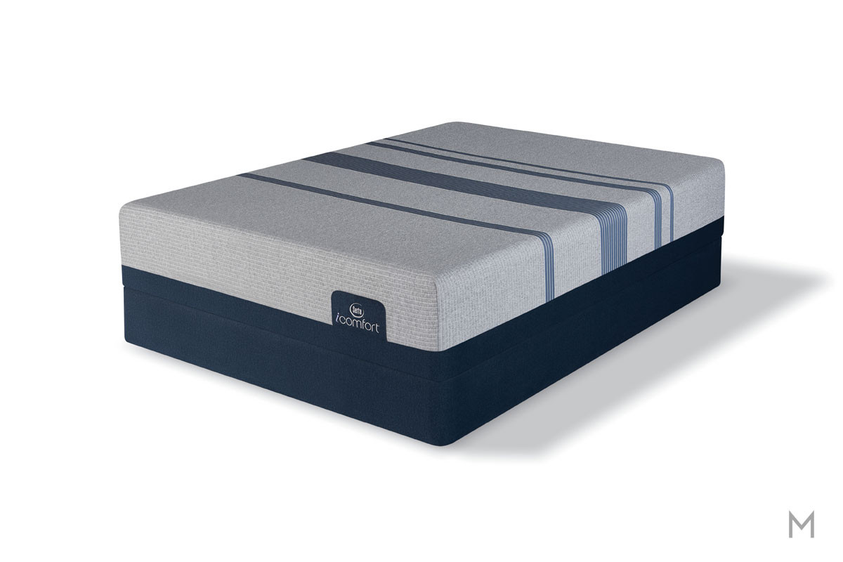 Serta Blue Max 1000 Cushion Firm Mattress - Full with Deep Reaction™ Memory Foam