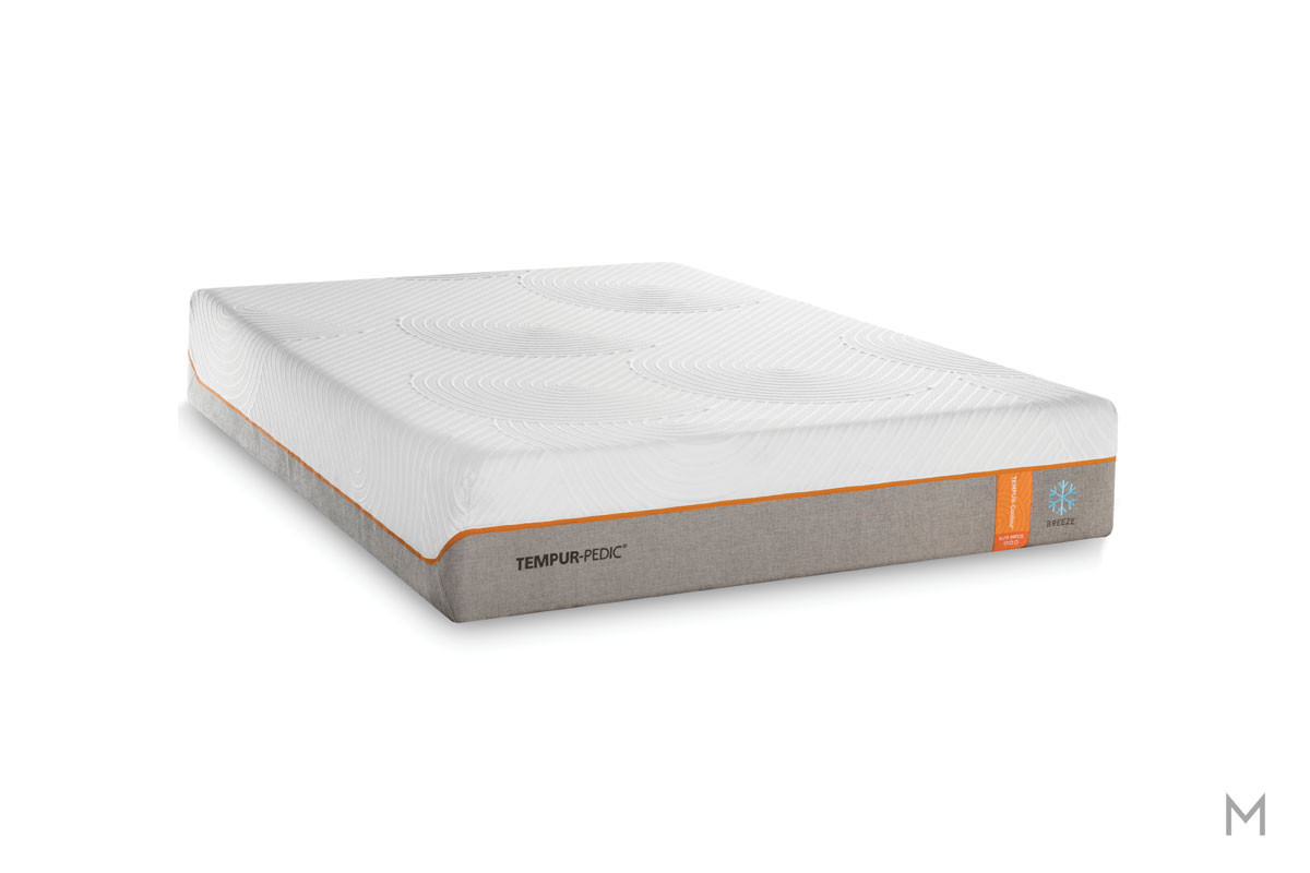 Tempur-Pedic TEMPUR-Contour Elite™ Breeze Mattress - King with Cooling Cover