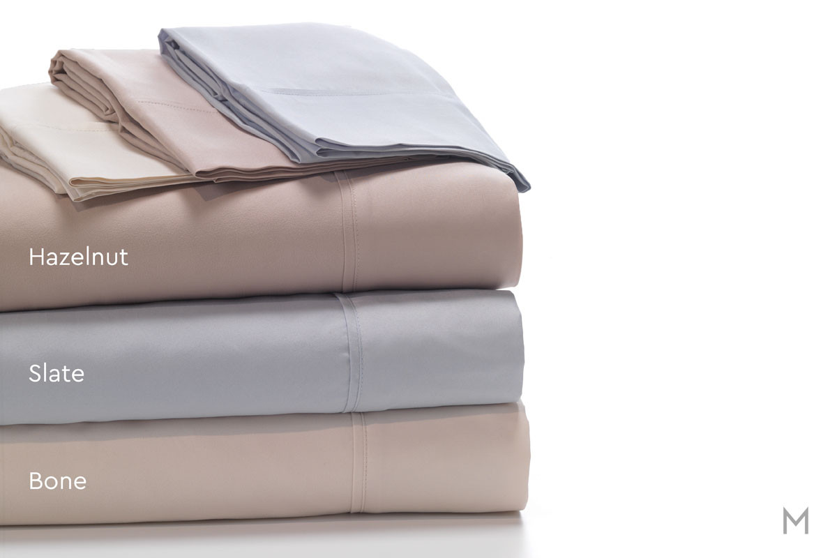 Degree 1 Brushed Microfiber Sheet Set - King in Hazelnut