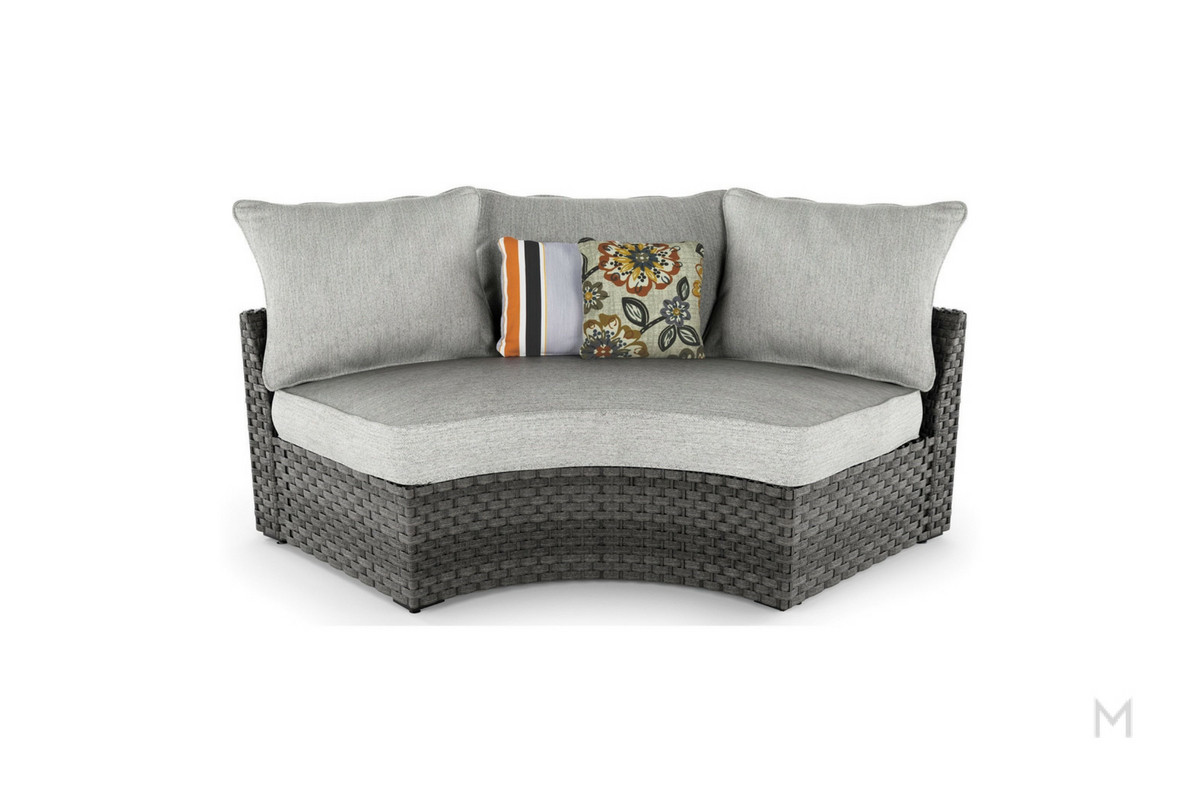 Basket Curved Lounge Chair Basket Collection