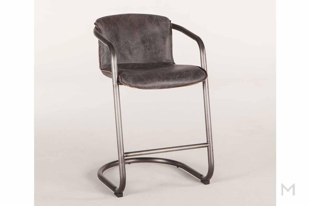 Portofino Antique Ebony Counter Chair