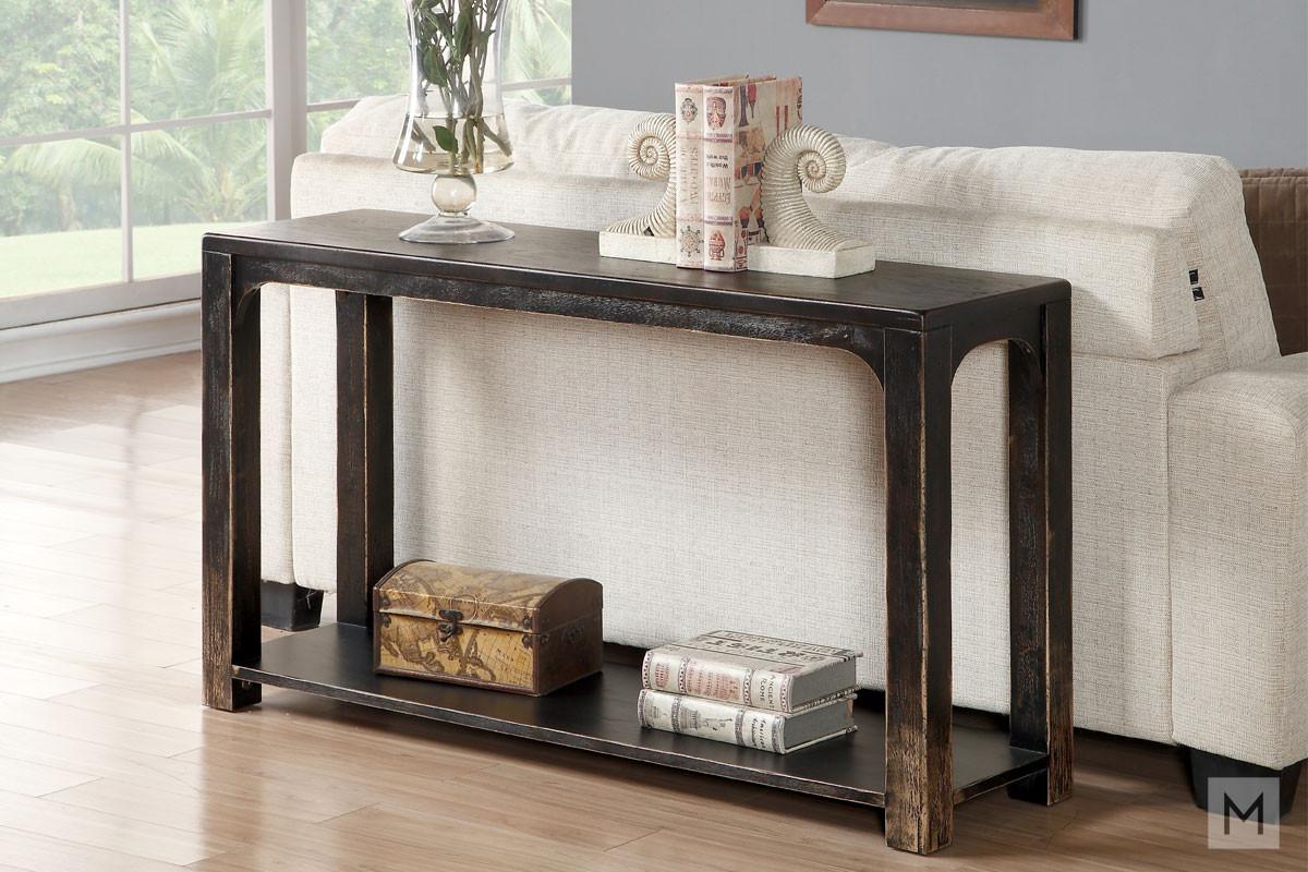 Homestead Console Table in Birch Veneer