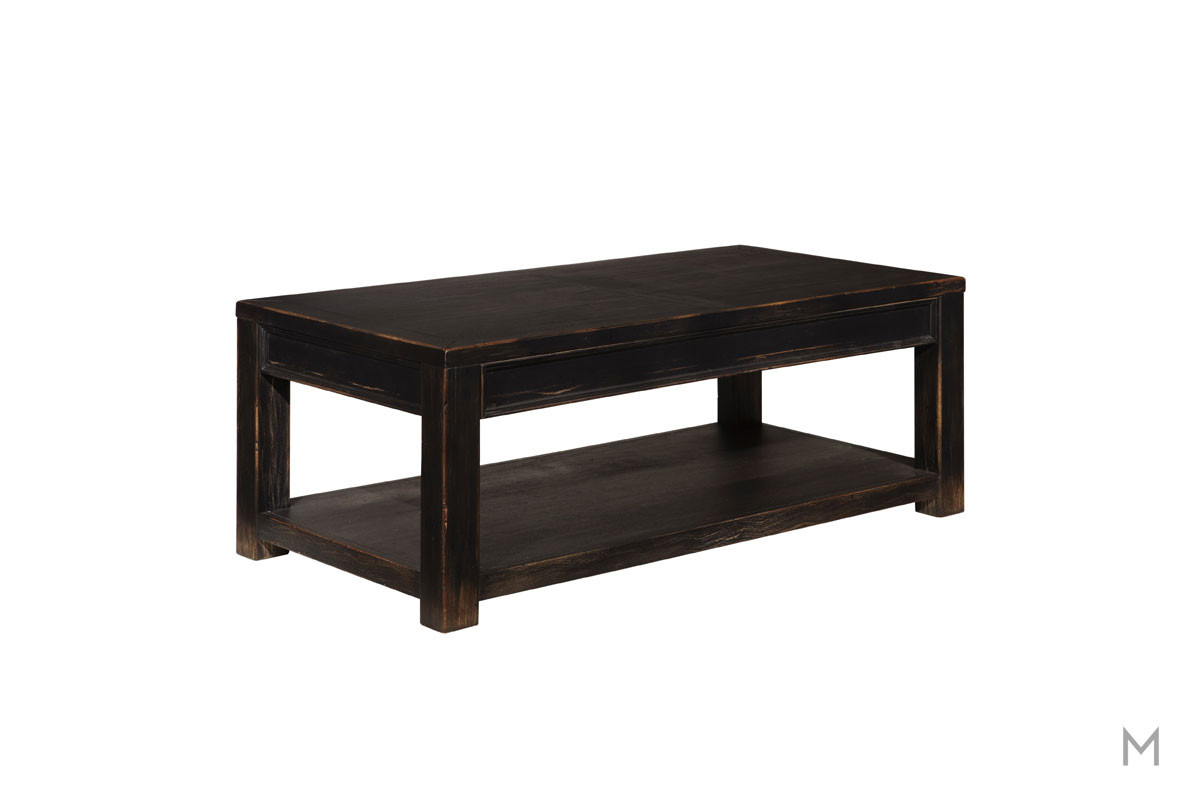 Gavelston Coffee Table in Black