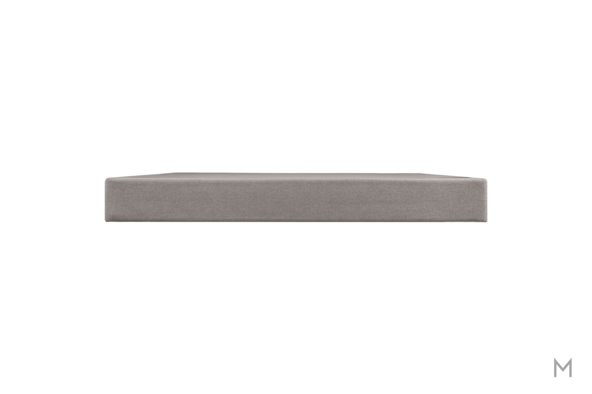 "Tempur-Pedic TEMPUR 9"" High Flat Foundation - Twin XL in Gray Upholstery"