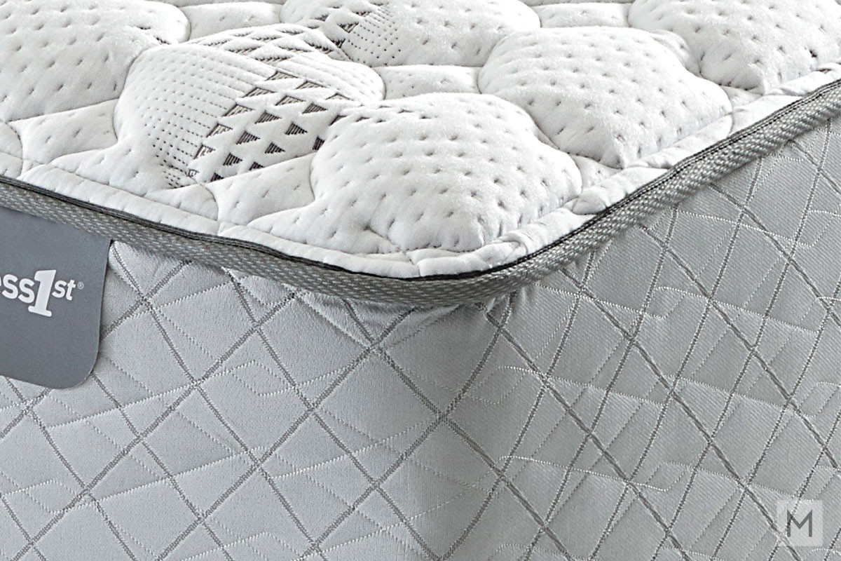 Mattress 1st Gel 1st Hybrid Cushion Firm Mattress - Queen with Gel-Enhanced Memory Foam