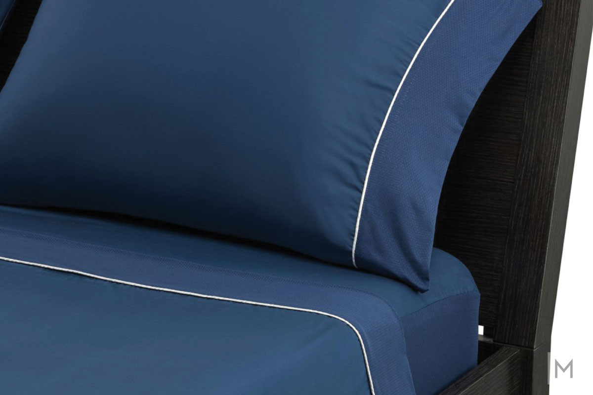 Hyper-Cotton Quick Dry Performance Sheets - Split King in Navy