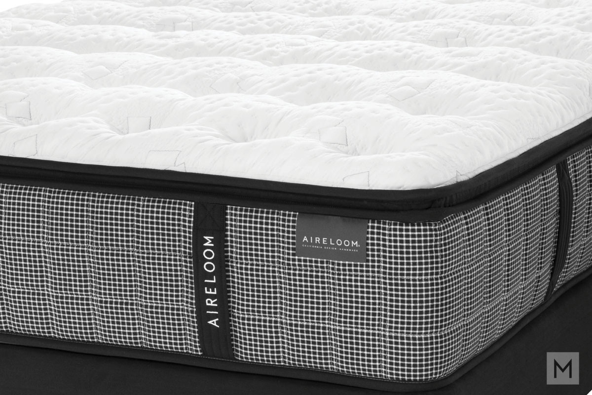Aireloom Crystal Cove Firm Mattress - King with Temperature Regulating CelsionPLUS™