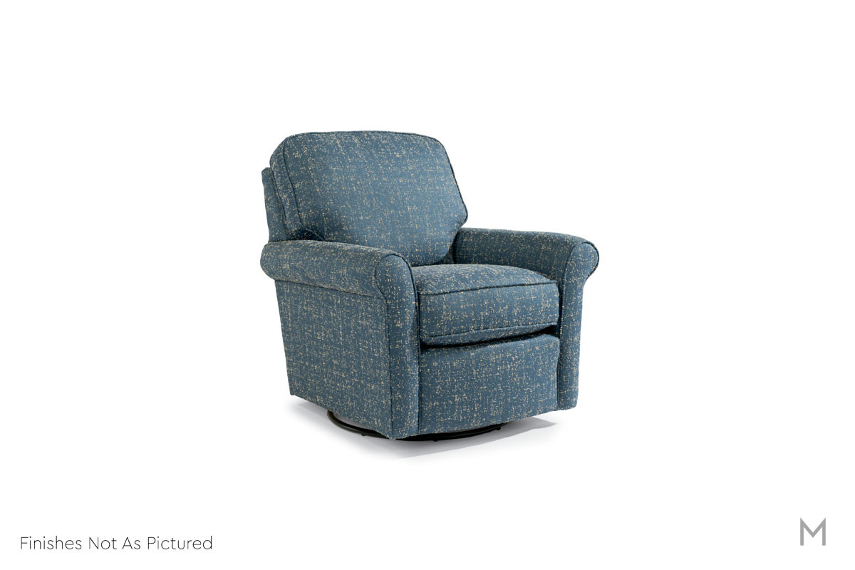 Parkway Swivel Glider Chair in Ace