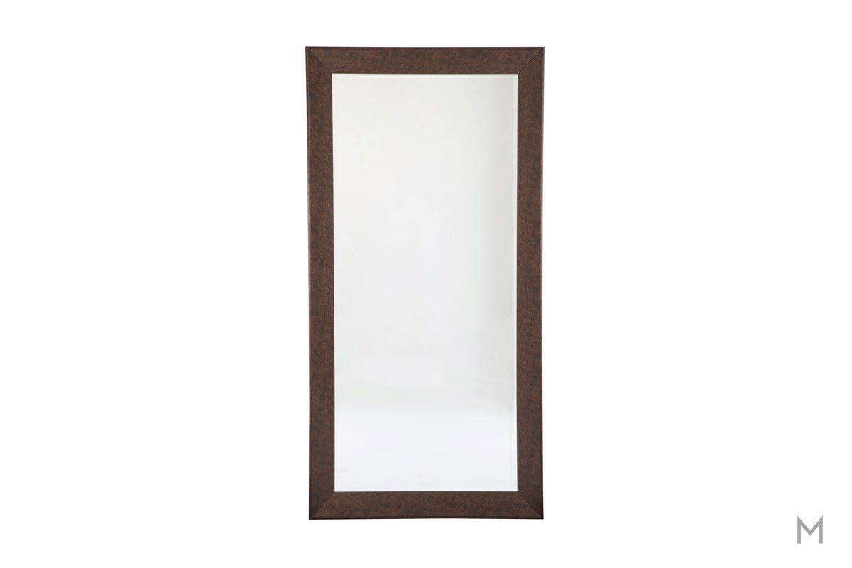 Duha Full Length Accent Mirror in Brown