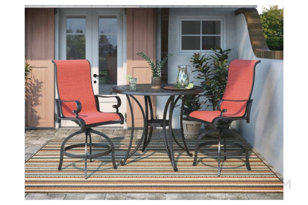 Applewood Sling Barstool a patio chair